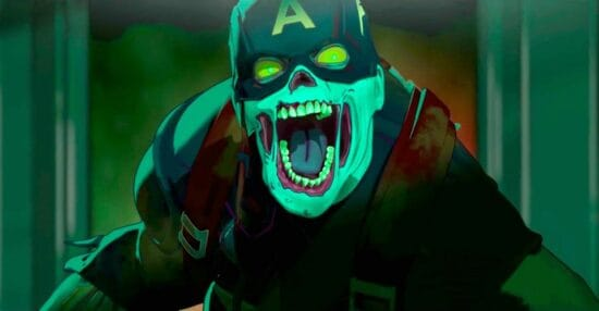 Zombie Captain America What If...?