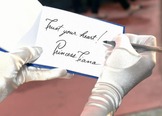 Disney World autograph book