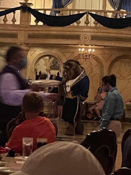 beast at be our guest restaurant