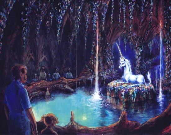 beastly kingdom unicorn dark ride