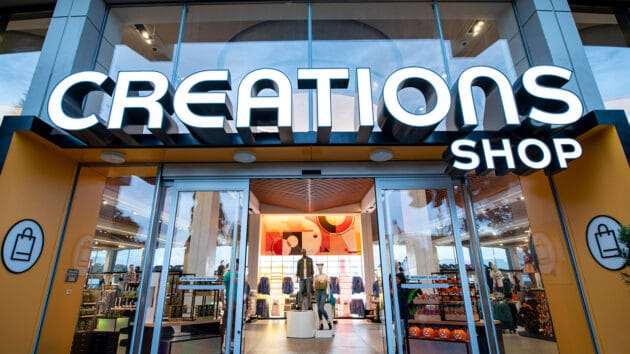 creations shop entry