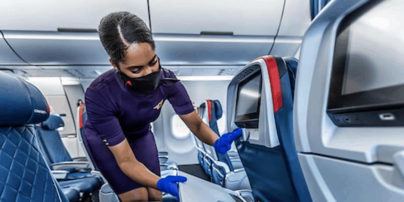 delta airlines stewardess