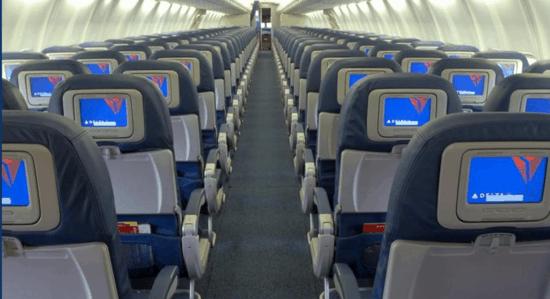 delta plane interior