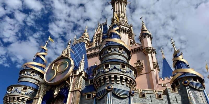 disney world 50th castle