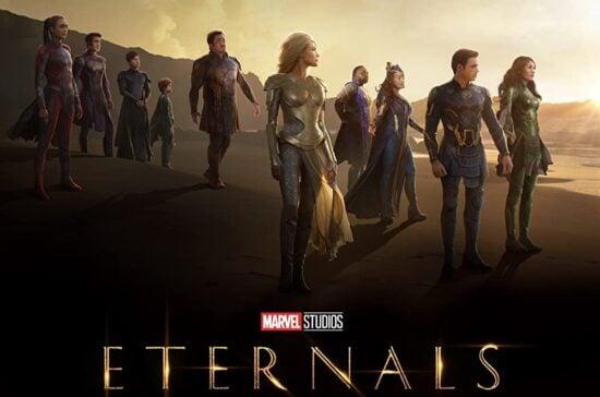 eternals cast poster