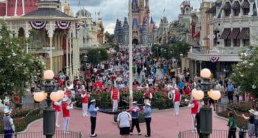 flag retreat ceremony disney world