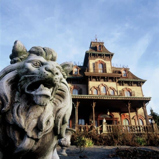 ghost mansion disneyland paris