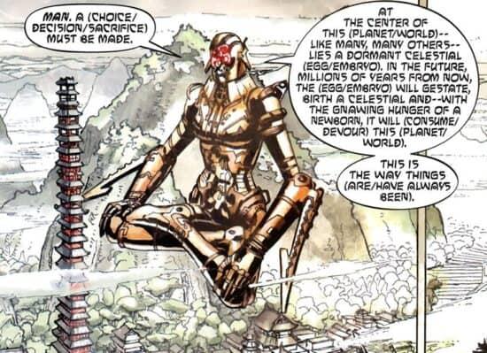 marvel comics celestial madonna