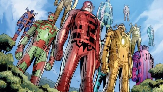 marvel comics celestials coming to earth
