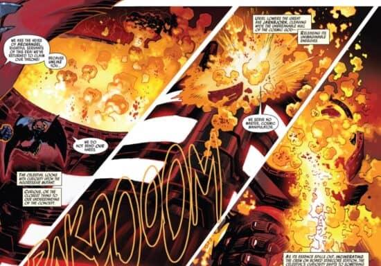 marvel comics death of a celestial