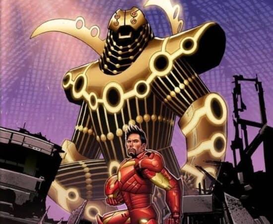 marvel comics iron man godkiller armor celestials eternals