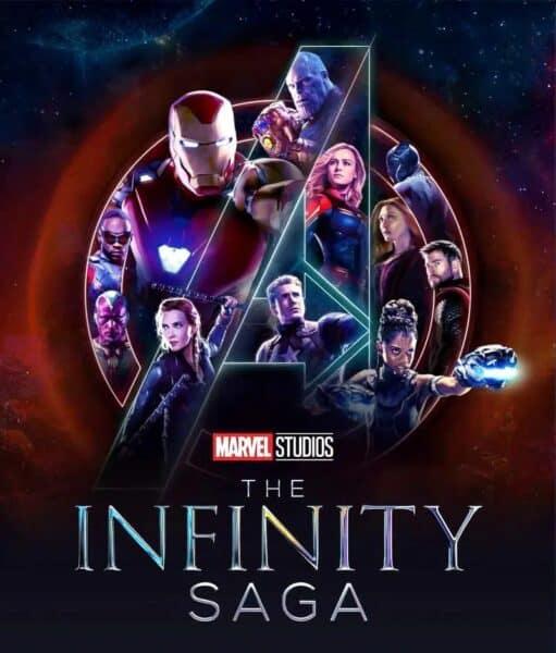 marvel disney plus mobile poster for the infinity saga