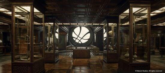 marvel doctor strange sanctum sanctorum mystic artifact room