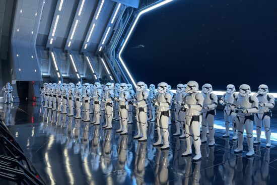 rise of the resistance stormtrooper room