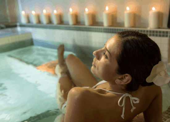 senses spa pool disney world