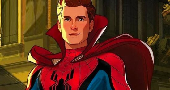 Spider-Man wearing cape in What If...?