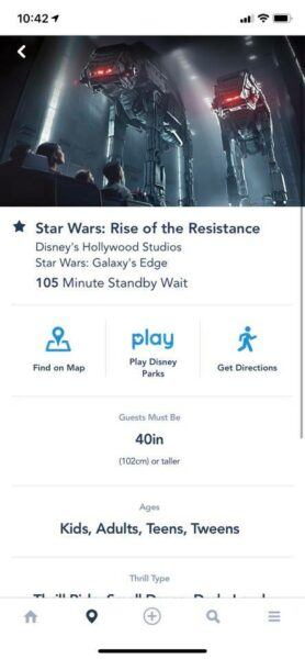 rise of the resistance standby