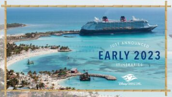 Disney cruise line early 2023 itineraries