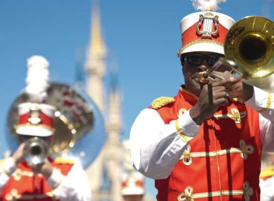 Main Street philharmonic Walt Disney world