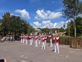 Main Street philharmonic at magic kingdom