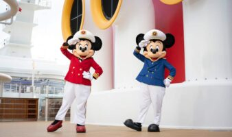 Minnie and mickey disney cruise line