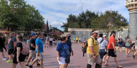 Magic kingdom crowd levels