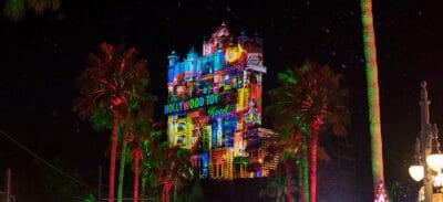 Disneys hollywood studios hollywood towers hotel holiday transformation