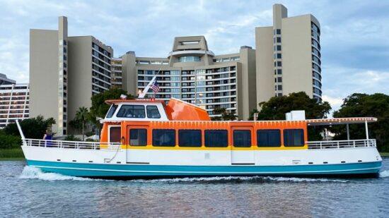 walt disney world watercraft transportation