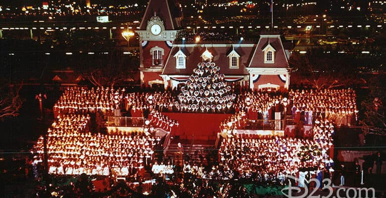 Candlelight Processional Disneyland