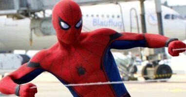 "Tom Holland as Spider-Man in ""Captain America: Civil War"" (2016)"