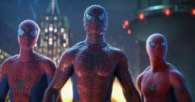 Spider-Man Tobey Maguire, Andrew Garfield, and Tom Holland