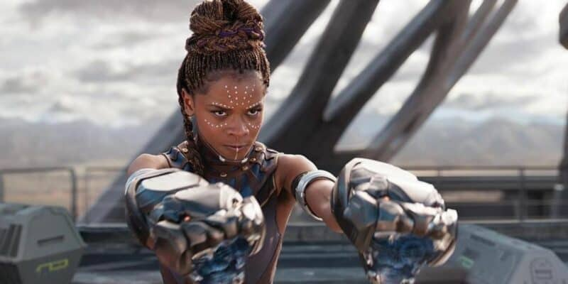 """Letitia Wright in """"Black Panther"""""""