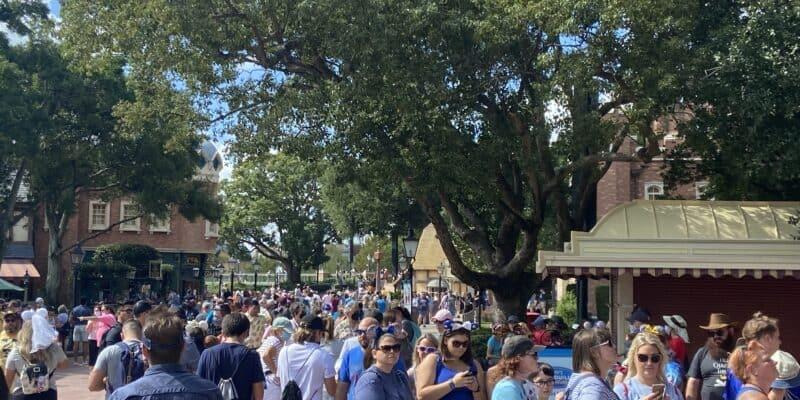 epcot crowd levels