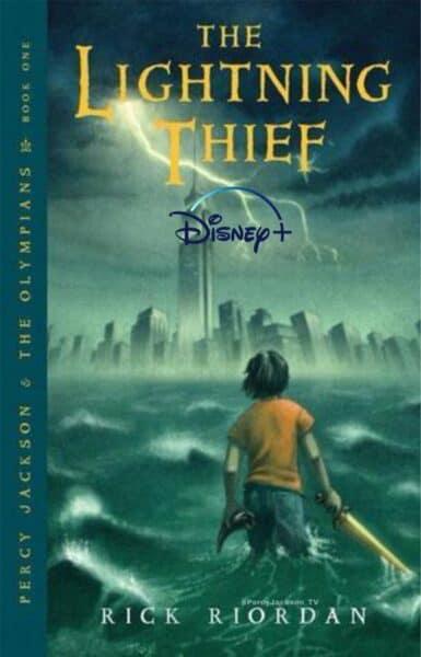 Percy Jackson Lightning Thief Cover