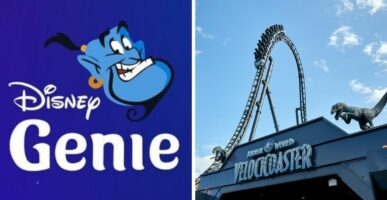 Disney Genie and Velocicoaster