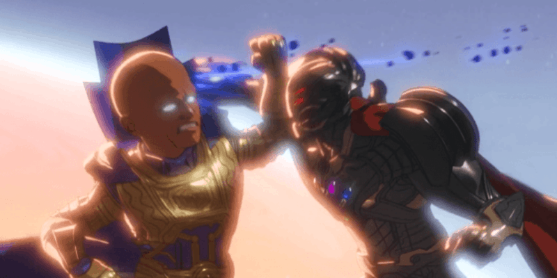 Ultron vs the watcher what if