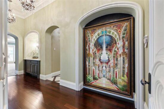 Lake Mabel Mansion Artwork
