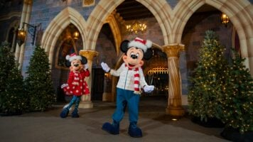 Mickey and Minnie holiday outfits