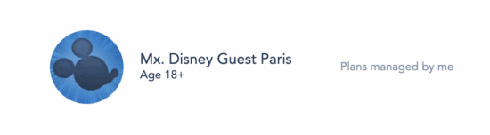 Mx. non-binary title added to My Disney Experience