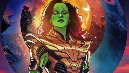 Gamora in Thanos armor in What If...?
