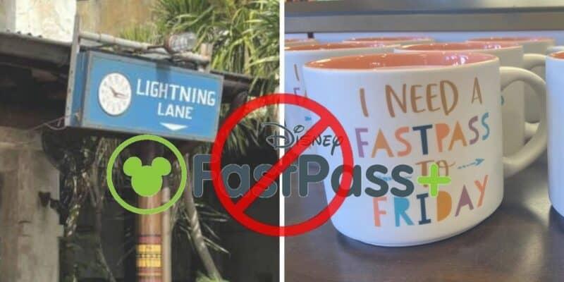 lightning lane disney fastpass coffee mug