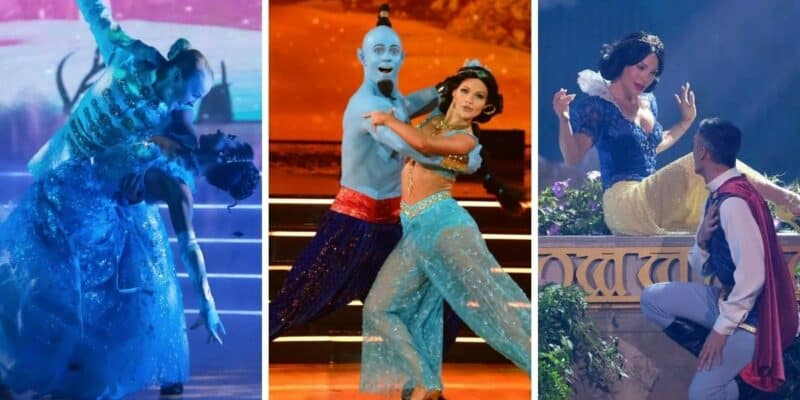 dancing with the stars disney night