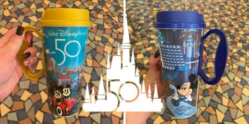 disney world refillable mug 50th