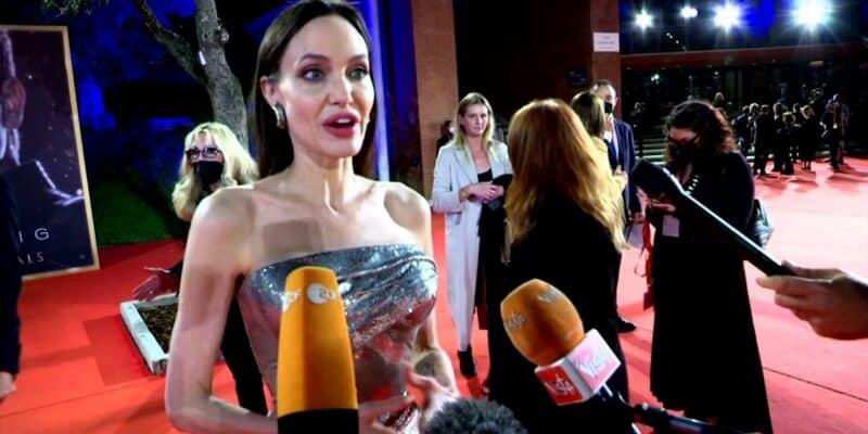 angelina jolie rome film festival