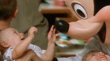 visiting disney theme parks with a baby
