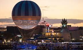 Aerophile balloon at night
