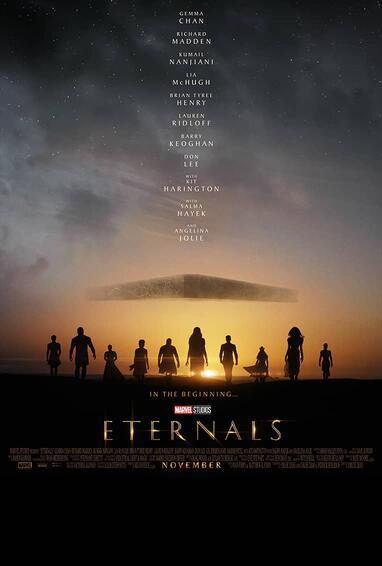 marvel studios eternals movie poster