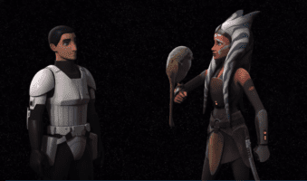 ezra bridger (left) and ahsoka tano (right) world between worlds