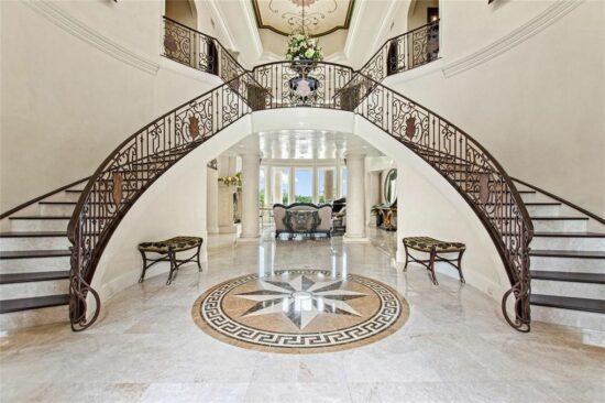 Lake Mabel Mansion Staircase