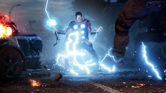 thor in marvel's avengers